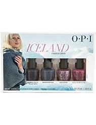 OPI Iceland Nagellack, Mini-Set, 3,75ml, 4Stück