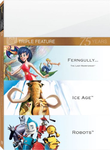 Ice Age & Robots & Fern Gully: The Last Rainforest [DVD] [Region 1] [NTSC] [US Import]