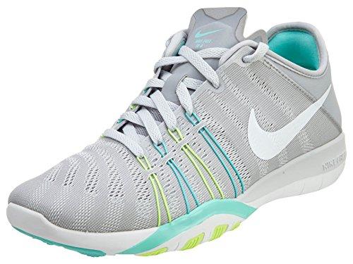 Nike Damen Free Tr 6 Laufschuhe Grau (Wolf Grey/Hyper Turquoise/Ghost Green/White)