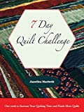 7 Day Quilt Challenge: One week to Increase Your Quilting Time and Finish More Quilts (Quilting Efficiency Book 1)