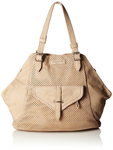 Liebeskind Berlin - Sacha Nabuck Lasercut + Vintage, Borsa shopper Donna Avorio (Elfenbein (light powder 2004))