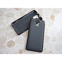 Prevoa ® 丨 Elephone P7000 Funda - Transparent Silicone TPU Funda Cover Case para Elephone P7000 5.5 Pulgadas Smartphone - Negro