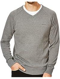 Slazenger - Pull de golf Seve - tricoté/col en V - homme