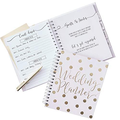 Wedding Planner Buch / Hochzeits-Organizer-Buch / Hochzeit-s-Vorbereitung Check-Liste Ring-Buch / Zubehör Hochzeit / Organisation Planer