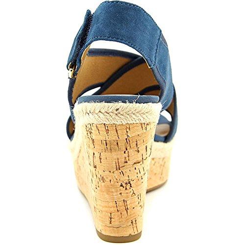 Franco Sarto L-TAYLOR Kunstleder Keilabsätze Sandale Teal