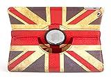 DURAGADGET Union Jack Hülle Tasche Brexit Etui Case mit Standfunktion, Britische Flagge, MAßGEFERTIGT für das Apple iPad Air 2 (2014) mit 9.7 Zoll Display 32 GB und 128 GB Wi-Fi/Wi-Fi + Cellular