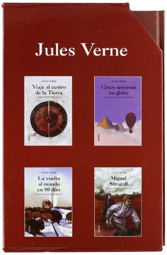 Estuche Jules Verne: (4 volúmenes) (Cuentos, Mitos Y Libros-Regalo - Libros-Regalo)