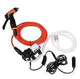 JINER Tragbare Autowaschanlage Set Auto Sprayer 80 Watt Hochdruck Selbstansaugende Elektrische Wasch Washer Kit Wasserpumpe 12 V