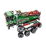 Bausteine gebraucht 1 x Lego Technic Set Modell für Nr. 42008 Service Truck Kran Wagen Technik Pneumatik Auto grün rot Incomplete unvollständig