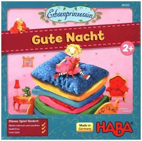 HABA 302335 - MES Erbsenprinz. Gute Nacht Spiel