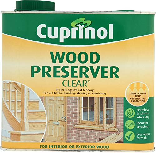 CUPRNOL 5083487 Wood Preserver Clear (Bp) Exterior Woodcare