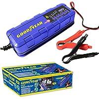 Goodyear Smart Battery Trickle Charger Maintainer for 6v / 12v Lead Acid & Gel Batteries preiswert