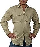 normani Tropenhemd Deserthemd Diensthemd Safarihemd Langarm Größe XL
