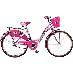 Hero Miss india Jasper 26T Girl Bike  17.5-inches (Pink)