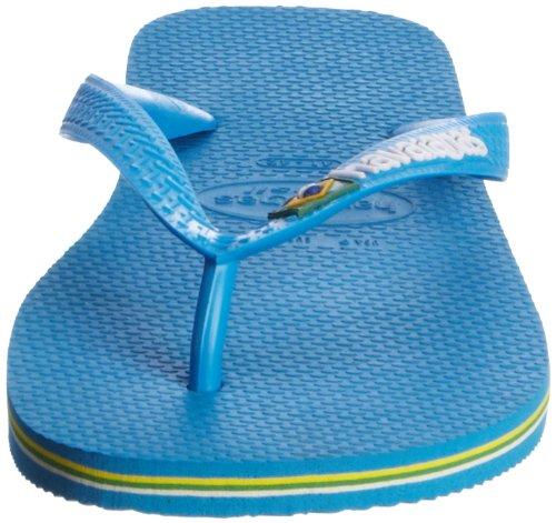 Havaianas Unisex-Erwachsene Brasil Logo Zehentrenner Blau 0036