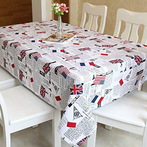 Britischen Stil Schönheit Britische Flagge Baumwolle Leinen Tischdecke Tischdecke Abdeckung...