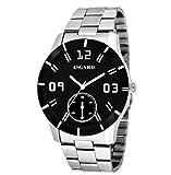 ASGARD® Royal Black Dial Chain Watch ...