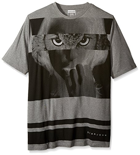 sean-john-para-hombre-big-and-tall-camiseta-de-manga-corta-diseno-de-buho-medium-grey-heather-xxxxxl