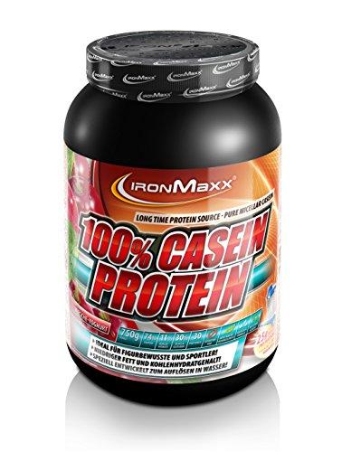 #Ironmaxx 100% Casein-Protein Kirsche-Yoghurt, 1er Pack (1 x 750 g)#