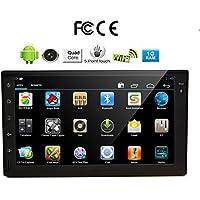 7 pollici 2 DIN autoradio touchscreen in-dash Android Sistema Car DVD Player con Bluetooth, / SD / / / Iphone / AM / FM + libero macchina fotografica posteriore DVD / GPS di navigazione Bluetooth Supporto Bluetooth USB