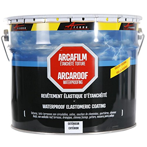 ARCAROOF - Waterproof Roof, flat and pitched roofs, roof shingles, roof  tiles, roof flashings, gutters, DIY Roofing, repair bro - Terracotta, 0 75l