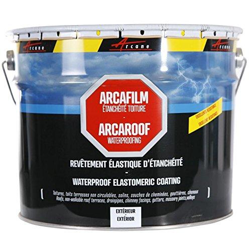 Etancheite toiture peinture résine anti infiltration tuile béton fissure membrane réparation...