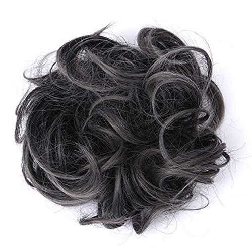 Dhyuen Easy-to-Wear Stylish Hair Circle Frauen Mädchen Hair Circle Elastics Perücken Haargummis Stirnbänder Lockiges Haar Seile -
