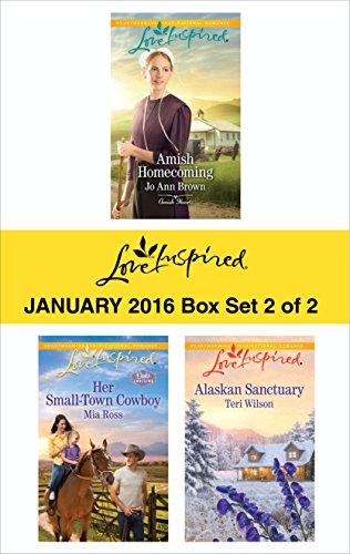 Love Inspired January 2016 Box Set 2 Of 2 Amish Homecoming Her Small Town Cowboy Alaskan Sanctuary