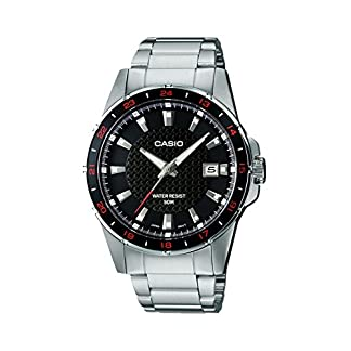 Casio Enticer Analog Black Dial Men's Watch – MTP-1290D-1A1VDF (A413)