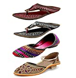 #4: Zaiva Woman And Girls Belly and Slipper Pack of 4