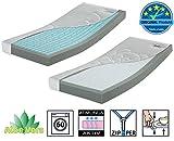 Betten ABC OrthoMatra Junior-Duo - Babymatratze und Kleinkindmatratze in Einem / Atmungsaktiver Kaltschaumkern mit Trittkante in 70 x 160 cm - allergikergeeignet - 6