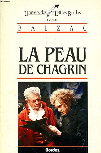 BALZAC/ULB PEAU CHAGRIN (Ancienne Edition) par Honoré de Balzac