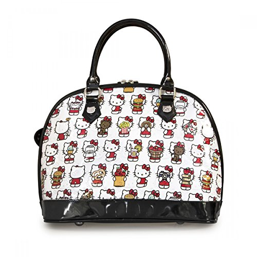 Hello Kitty, Borsa a mano donna Bianco (bianco)