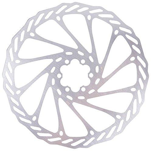 SODIAL Rotor de Disco de Freno de Acero Inoxidable de Bicicleta de Montana MTB Bicicleta 203...