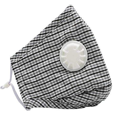 WOQUXIA Nasenfilter Atmung Gesicht Mund Masken Smog Nebel Dunst Absorbierende Baumwollstaubmaske Verhindern Atmungsaktiv -