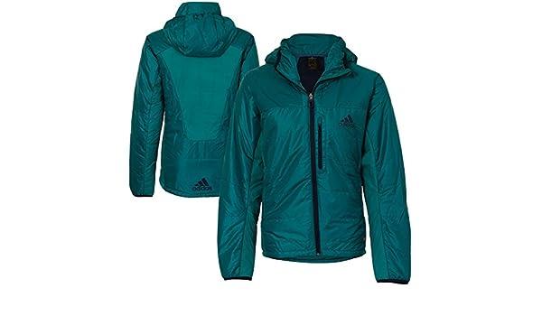 Adidas Herren Kapuze Jacke Aquamarine Blau 34 S09051 Teal 34