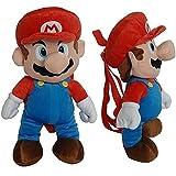 Super Mario Bros Mario Plush Backpack