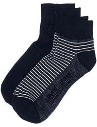 Levi's LEVIS 168SF MID CUT STRIPE 2P - Calcetines cortos para hombre