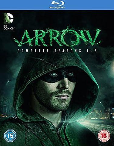 Arrow - Saison 1-3 (Import Langue Française) [Blu-ray] [Import anglais]