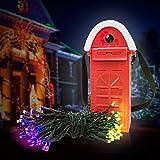 [Cadeau idéal de Noël] Morpilot LED Guirlande lumineuse multicolore étanche alimenté par l'eau ...