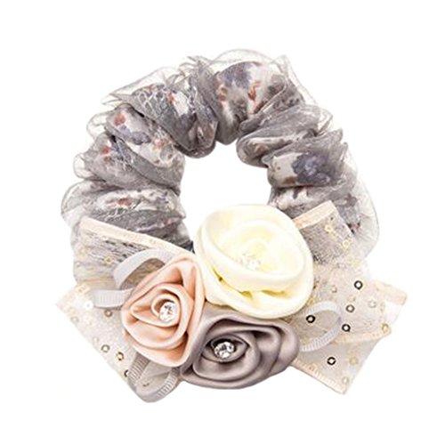 Ring Bandeau (Mode Haar Zubehör Stirnbänder Elastik Krawatten Haar Ring Haar Band Bandeau H)