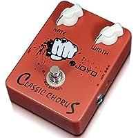 Joyo JF-05 - Pedal de efecto chorus para guitarra (batería zinc carbono)