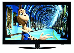 LG 50PQ6000 50-inch Widescreen HD Ready Plasma TV with Freeview - Black