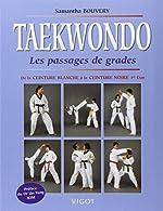 Taekwondo. Les passages de grades de Samantha Bouvery