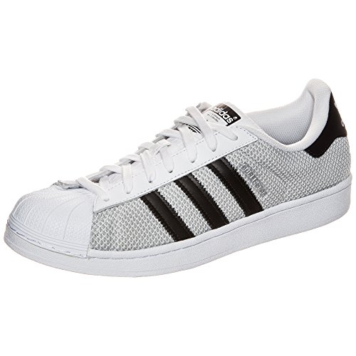 Adidas Superstar Adicolour Femme Baskets Mode Gris blanc/noir