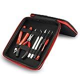 Coil Master Update Bausatz All-in-One Vape Kit 521 Karte Mini Ohm Leser/Pinzette/Bio Baumwolle/Hitzebeständige Draht Elektronische Zigarette RDA