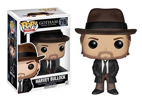 Funko POP De Gotham Harvey Bullock estilizados TV hroes figura de vinilo 76 Nueva g fbhre h4 8rdsf tg1378054