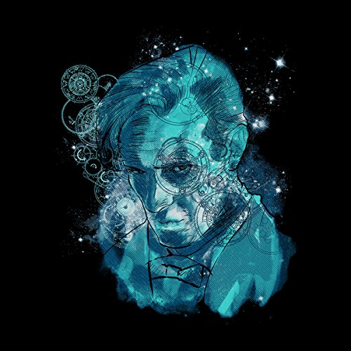 Doctor Who Matt Smith Dreaming Of Gallifrey Men's Vest Black