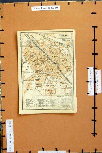 pianificazione-1930-della-via-della-mappa-tournai-faubourg-st-martin