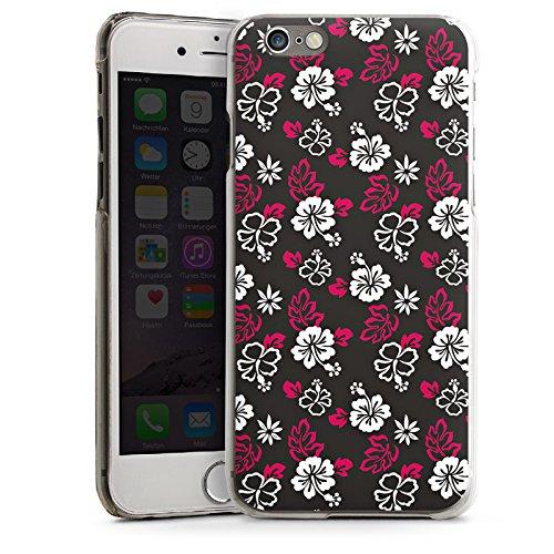 Apple iPhone 5s Housse Étui Protection Coque Fleurs Fleurs Motif CasDur transparent